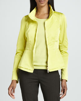 Lafayette 148 New York Reva Couture Cloth Jacket