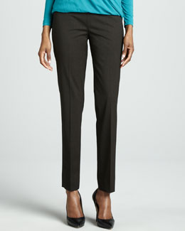 Lafayette 148 New York Italian Stretch Bleecker Pants