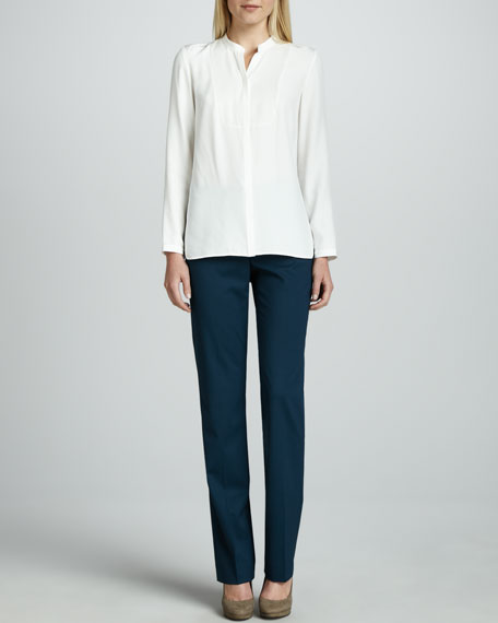 Barrow Straight-Leg Pants, Plume