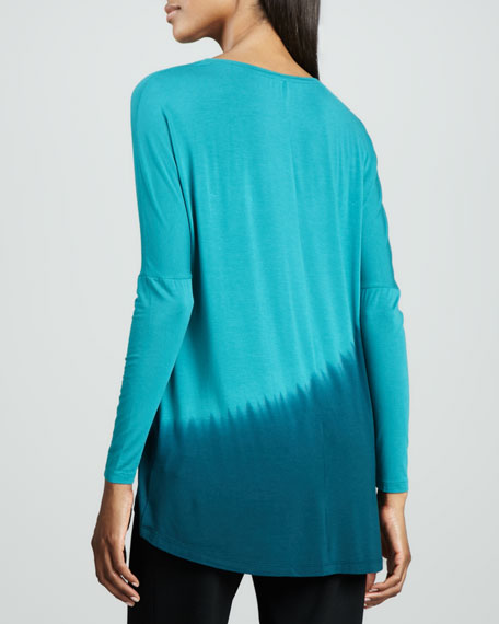 Dip-Dyed Asymmetric Top