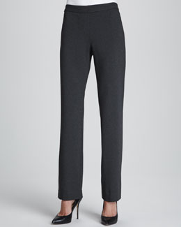 Lafayette 148 New York Milano Straight-Leg Pants