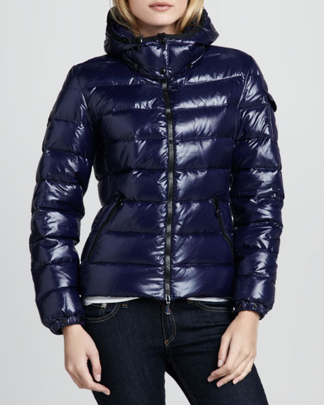 Bady Short Puffer Jacket, Royal