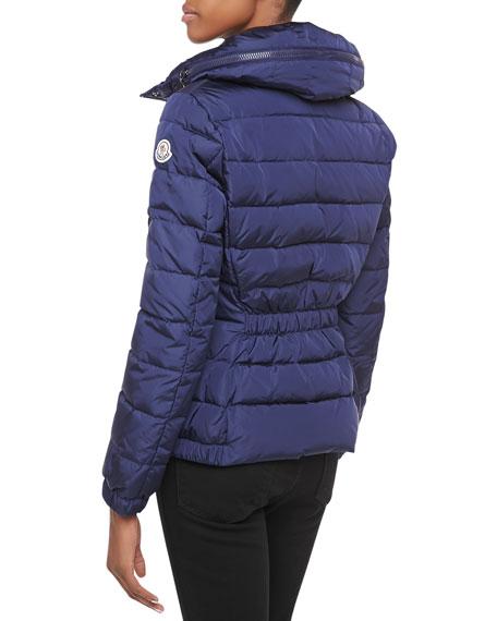 Sanglier Elastic-Waist Puffer Jacket