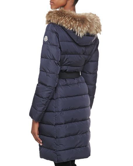 Salsifis Fur-Trim Puffer Jacket