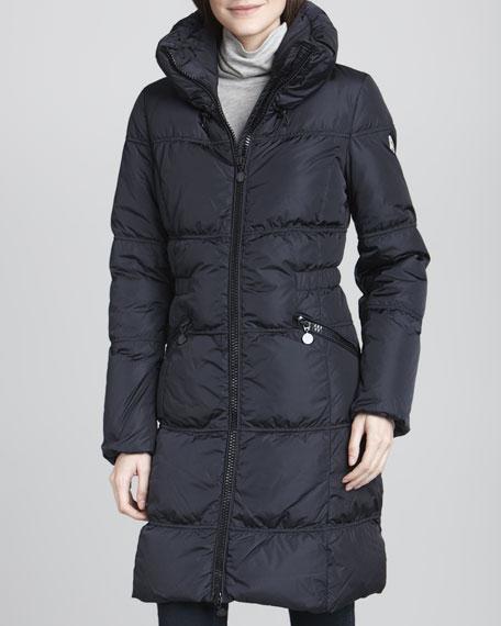 Maigre Nylon Puffer Coat