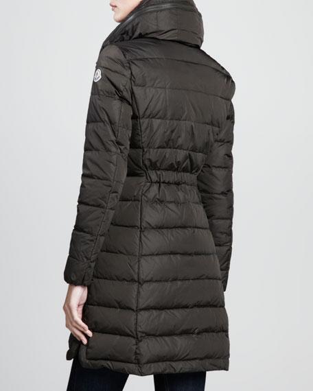 Flamme Puffer Coat