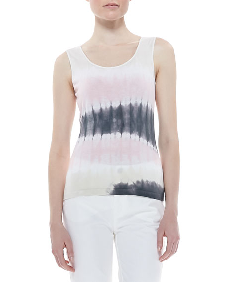 Tie-Dye Tank Top, Daiquiri  Multi