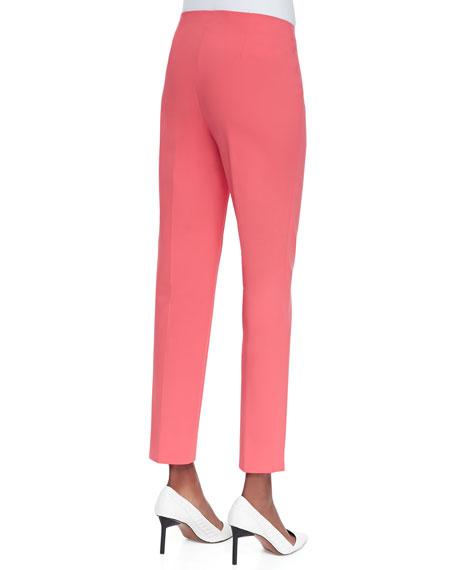 Stanton Slim-Leg Pants, Geranium