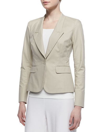 Lafayette 148 New York One-Button Jacket