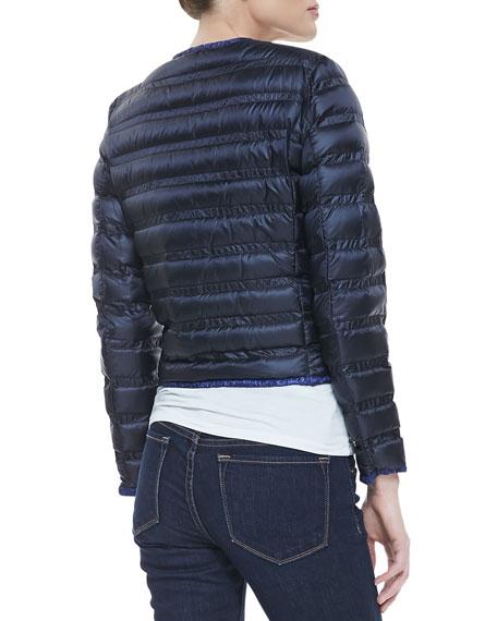Lerissy Flavienne Two-Tone Puffer Jacket