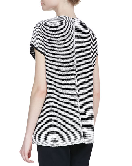 Two-Tone Pullover Vest