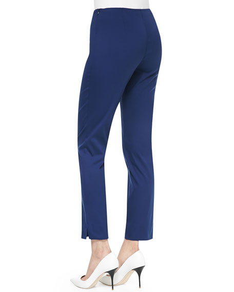 Luna Cotton-Stretch Pants