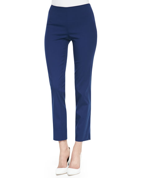 Luna Cotton-Stretch Pants