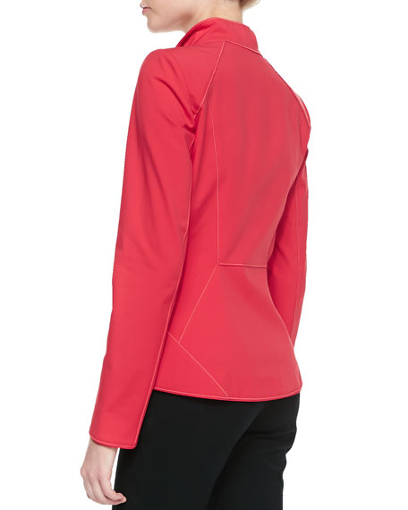 Zena Fundamental Bi-Stretch Jacket, Dynamite