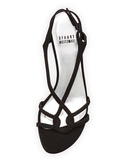 Reversal Slingback Evening Sandal