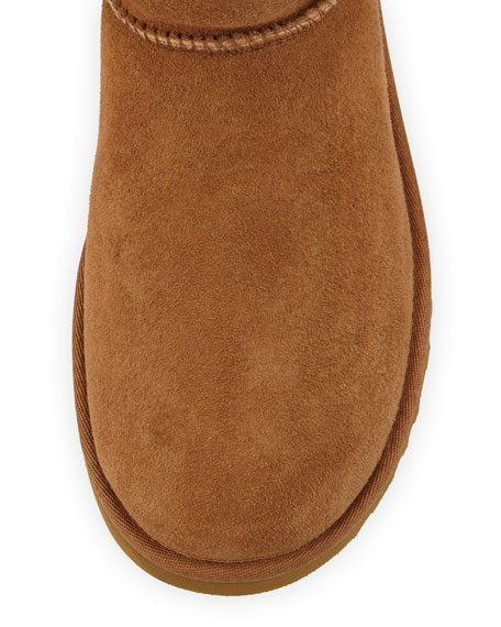 Bailey Button Short Boot, Chestnut