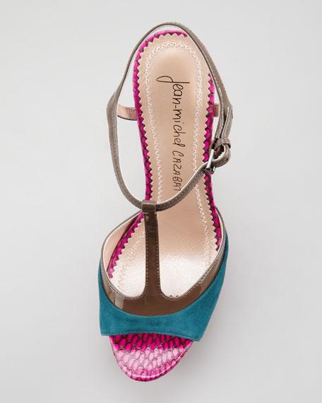 T-Strap Platform Sandal
