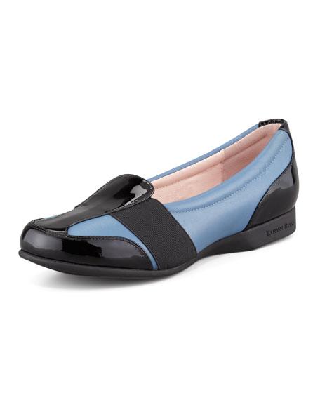 Flat Slip-On Sport Loafer, Blue