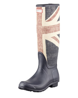 Hunter Boot Original Brit Welly Boot, Dark Navy