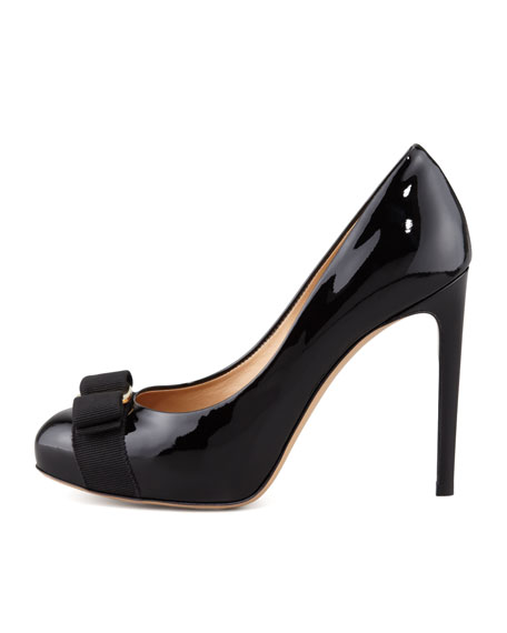 Rilly Patent Vara Pump, Black