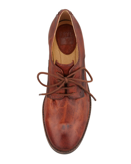 Anna Leather Oxford, Cognac