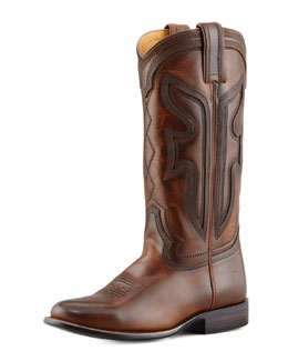 Frye 150th Anniversary Wylie Boot, Dark Brown