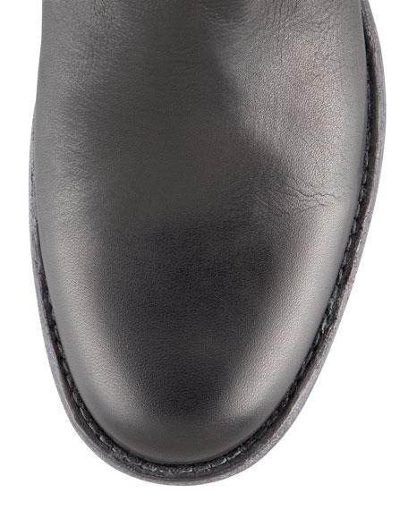 Phillip Tall Harness Boot, Black