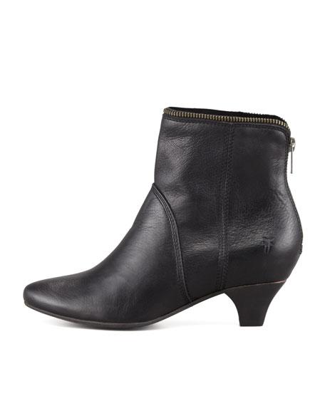 Steffi Zip Bootie, Black