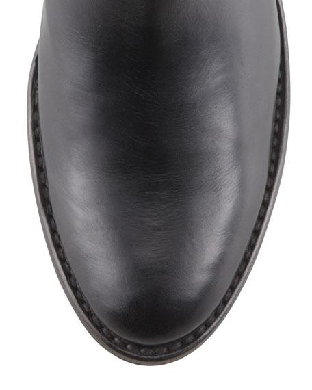 Jackie Short Snap-Zip Boot