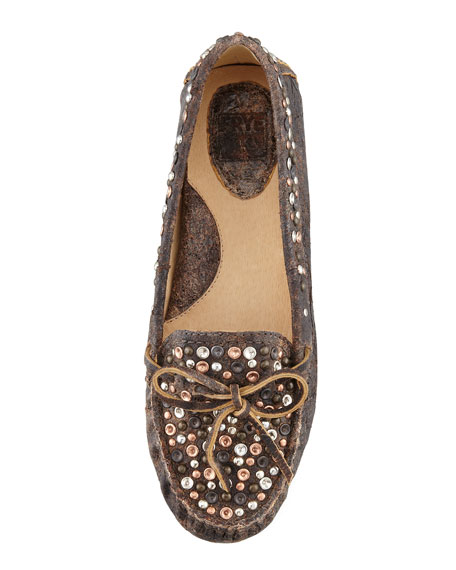 Reagan Studded Moccasin