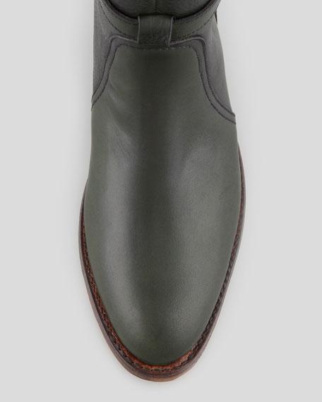 Dorado Leather Riding Boot, Green
