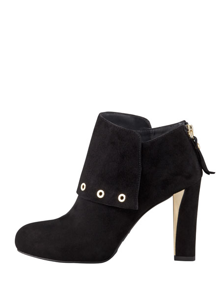 Thetops Suede Ankle Boot, Black