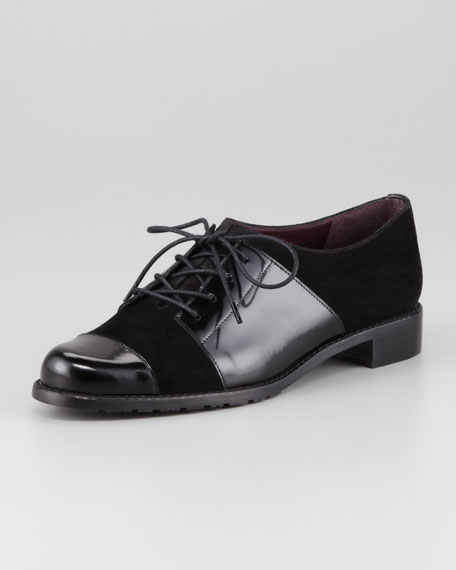 Oh Brother Mixed-Leather Oxford