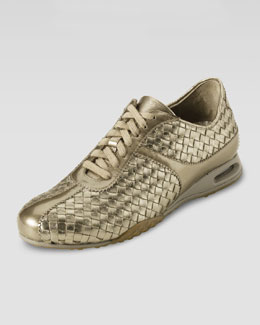 Cole Haan Air Bria Woven Oxford, Vintage Silver