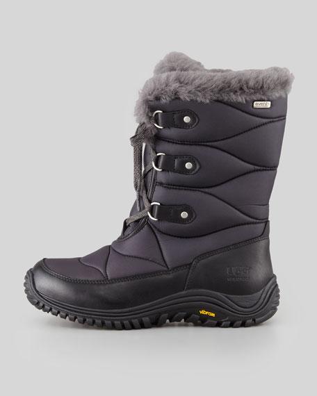 ugg womens lorien snow boots black