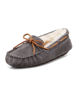 UGG Australia Dakota  Tie-Slipper, Pewter