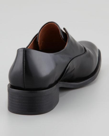 Jeffrey Campbell Niven Leather Loafer, Black