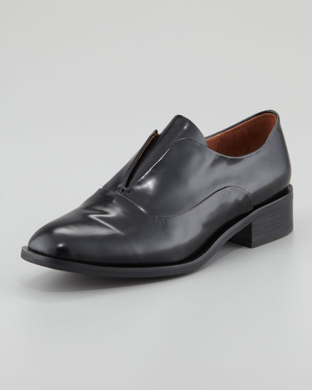 Niven Leather Loafer, Black