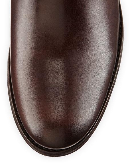 Melissa Button/Zip Boot, Dark Brown