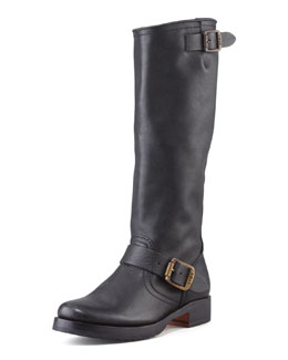 Frye Veronica Slouchy Buckled Knee Boot