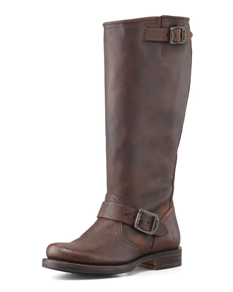 Veronica Slouch Boot, Dark Brown