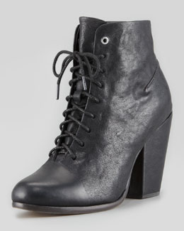 Rag & Bone Miles Lace-Up Ankle Boot