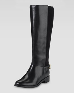 Cole Haan Adler Flat Knee Boot, Black