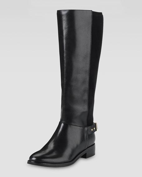 Cole Haan Adler Flat Knee Boot, Black