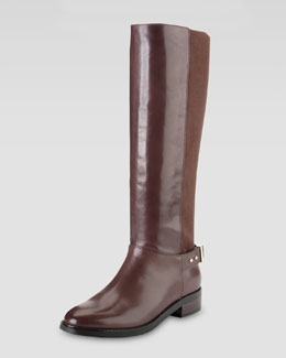 Cole Haan Adler Flat Knee Boot, Chestnut