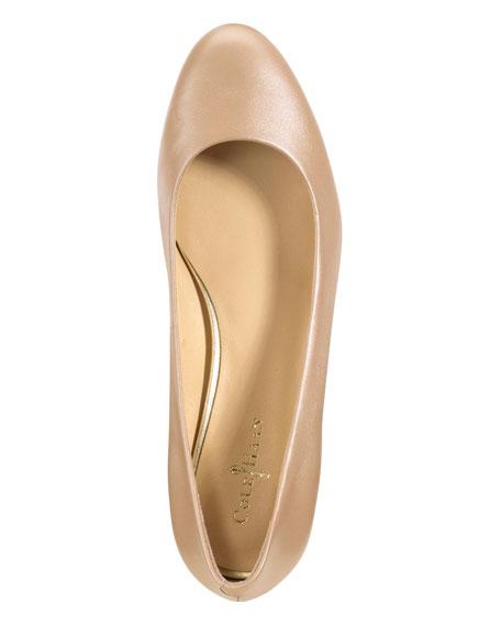 Astoria Ballerina Flat, Gold
