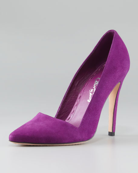 Dina Suede Pointed Pump