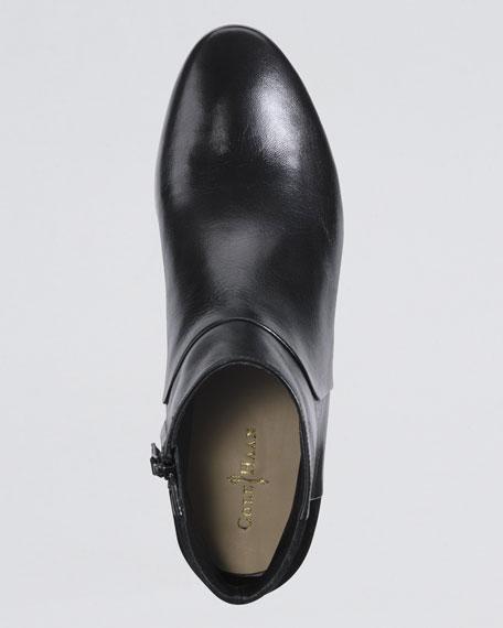 Allen Leather Bootie, Black