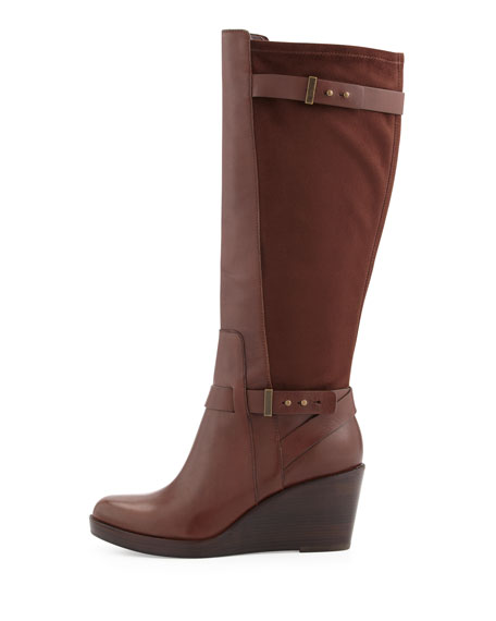 Fulton Wedge Boot, Chestnut