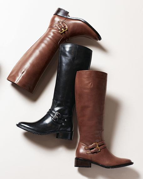 Dover Riding Boot, Black